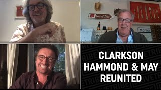 Clarkson, Hammond and May REUNITE in a video call