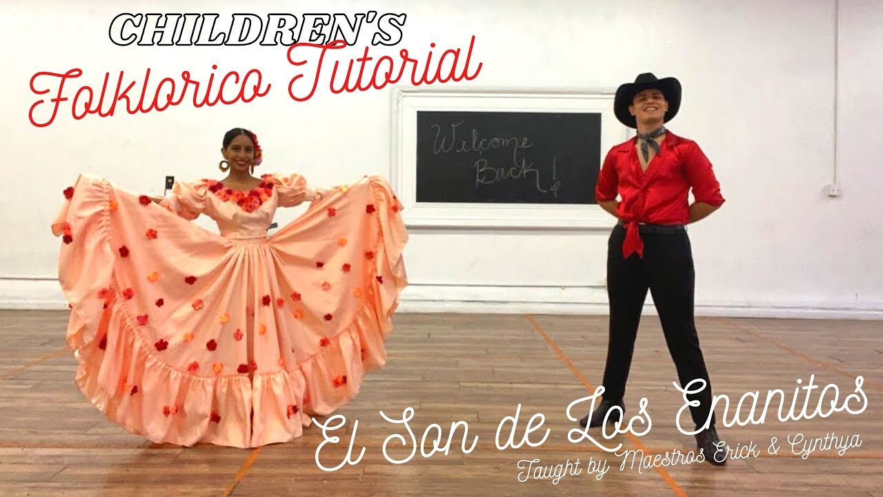 Live Children's Folklorico Tutorial - El Son De Los Enanitos