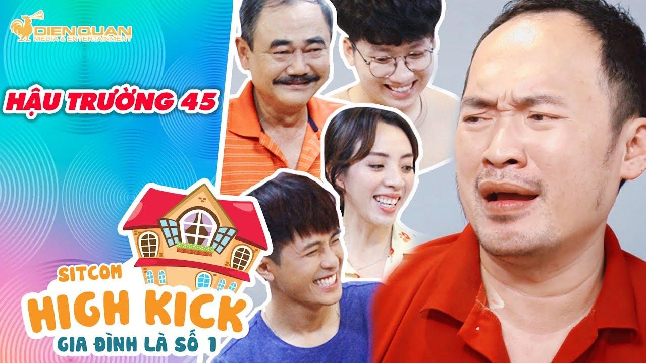 Gia đình là số 1 sitcom   Hậu trường 45: Tiến Luật diễn nét buồn khiến cả nhà không nhịn được cười