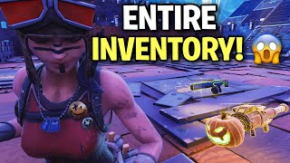 Scammer loses his entire inventory! 😨 (Scammer Get Scammed) Fortnite Save The World