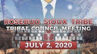 R.S.T Tribal Council Meeting (7-2-2020)
