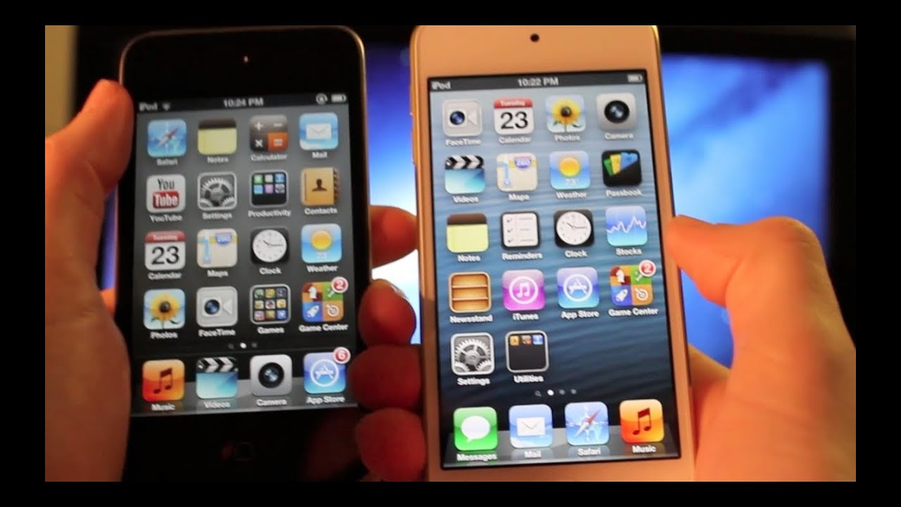 Iphone 5 Vs 5th Gen Ipod Touch
