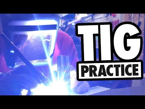 Setup For Practice Welding Bike Frames | TIG Tuesday