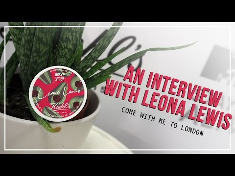 Come With Me To London | An Interview with Leona Lewis | Zoe Newlove
