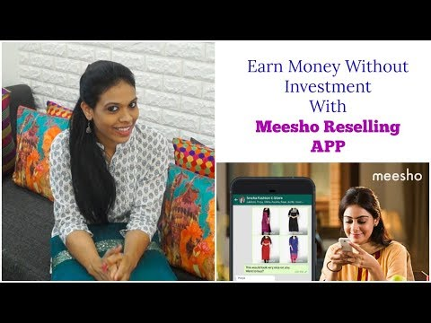 Work From home with Meesho Reselling App | Earn Money with Meesho | organizopedia