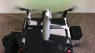 Scary Vibrating DJI Inspire 2 With NON Stock CF Propellers