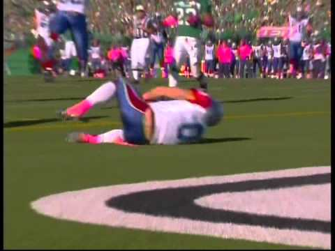 Bo Bowling #0  Montreal Alouettes 1st CFL TD -  Oct 20 2012 - Presented by Centre 68