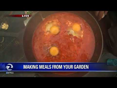 Making meals from your garden