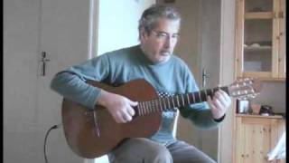 Blowing in the wind  - for solo acoustic guitar