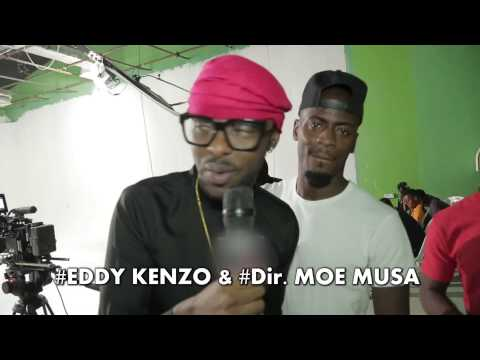 JAMBOLE REMIX EDDY KENZO ft. KCEE [BEHIND THE SCENES]