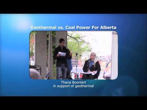 Geothermal vs Coal-fired power for Alberta - Debate