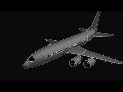 Modeling Airplane 3ds max beginner tutorial part - 1