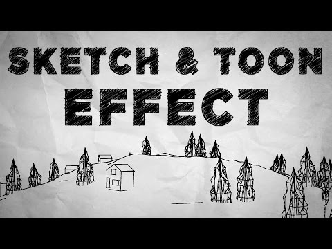 Cinema 4D and After Effects - Creating Sketch and Toon