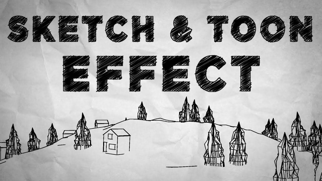 Part 1 tutorial sketch toon effect cinema 4d