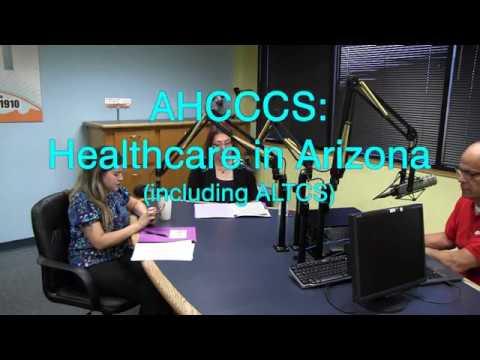 AHCCCS: HEALTHCARE IN ARIZONA (INCLUDING ALTCS)