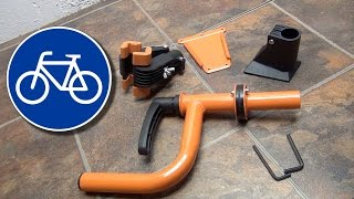How to mount a Bicycle Wall Mount Repair Stand