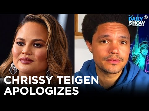 Chrissy Teigen Apologizes for Online Bullying   The Daily Show