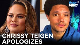Chrissy Teigen Apologizes for Online Bullying