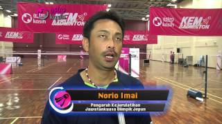 KEM BADMINTON ASTRO LATIHAN INTENSIF 2015 - PART 1 (LATIHAN BERSAMA NIPPON BADMINTON ASSOCIATION)