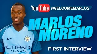 MARLOS MORENO SIGNS FOR MAN CITY! | Exclusive First Interview