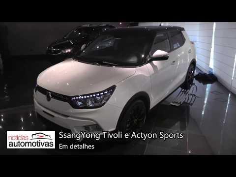SsangYong Tivoli e Actyon Sports - Detalhes - NoticiasAutomotivas.com.br