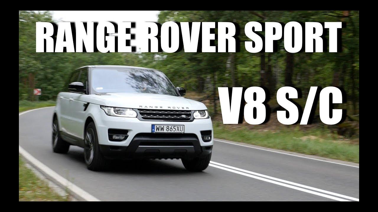 Range Rover Sport V8 Supercharged (PL) – test i jazda próbna