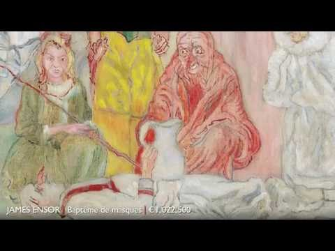 Modern Art Auction Results May 2016 | James Ensor Painting Rakes In A Million