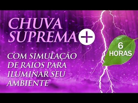 Som de CHUVA SUPREMA + | Música para Dormir e Relaxar (6h00)