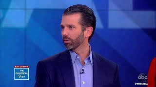 Trump Jr. defends tweeting article that alleges whistleblower identity | The View