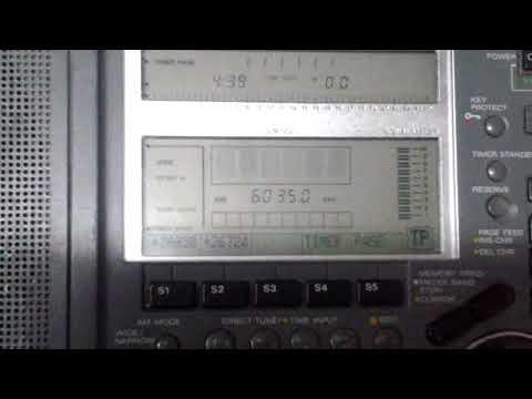 PBS YUNNAN [KUNMING, 50 KW] — 6035 KHZ — [23 AUG. 2018 16.39 UTC]