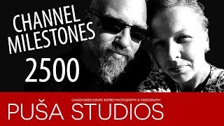 2500 SUBSCRIBERS!! | Puša Studios Special