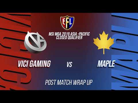 CS:GO Fight Night© | MSI MGA Asia-Pacific | VICI Gaming VS M