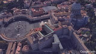 Vatican: Virtual Drone Flight above the Vatican | Urbi et Orbi | 1920*1080