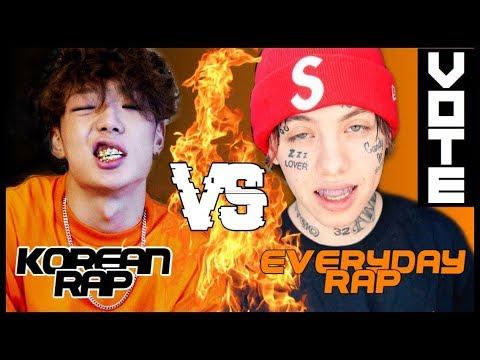 KOREAN RAP (KPOP) VS EVERYDAY RAP (AMERICAN -ENGLISH- & DUTCH) 2018 [UNDERRATED]