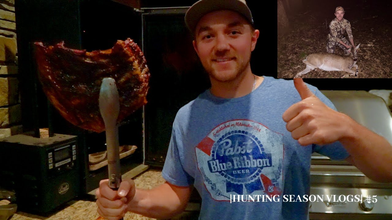 SMOKED VENISON Deer RIBS (Catch and Cook) | How to Cook Deer Ribs - YouTube