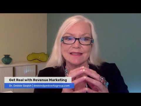 Get Real with Revenue Marketing - The Secret: Strategic Marketing Operations