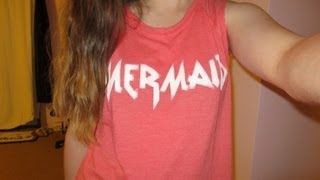 4/19/13 OOTD: Mermaid Muscle Tee! Thumbnail