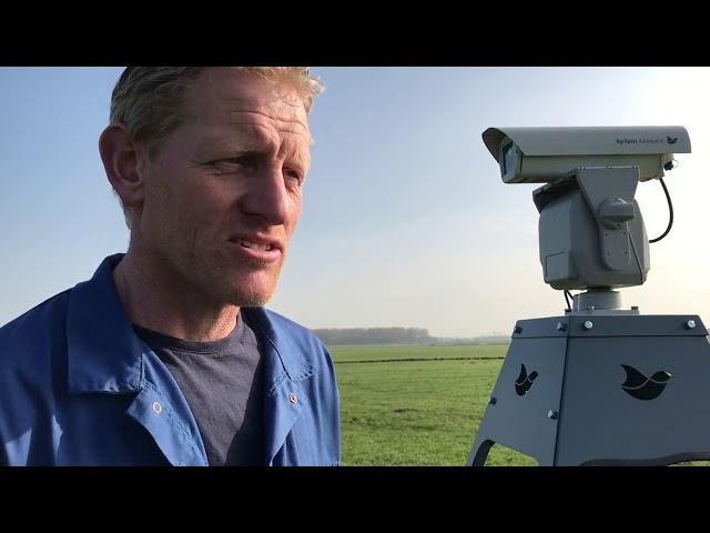 Melkveehouder Paul Dijkzeul over ganzen verjagen met laser