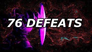 76 DEFEATS! (1v6) AND 74 Defeats | CLASH | Destiny 2