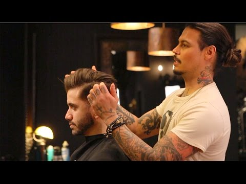 David Beckham Hairstyle Tutorial How To Style Mens Hair
