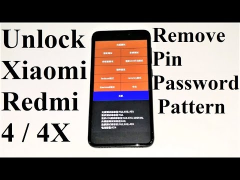 FORGOT PASSWORD - How To Unlock Xiaomi Redmi 4, 4X, 4A Or ANY Xiaomi Smartphone