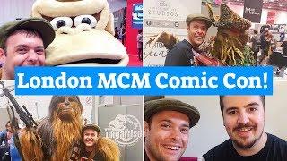 VLOG | MCM London Comic Con 2018!