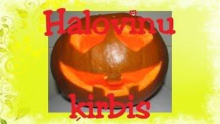 Kā izgrebt ķirbi Helovīniem? Videopamācība.