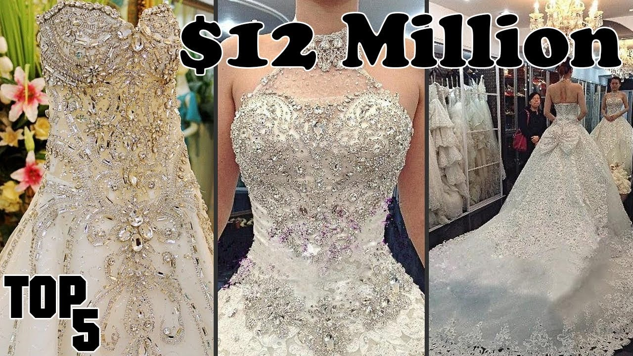 Top 5 Most Expensive Wedding Dresses Part 2
