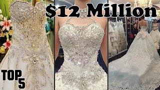 Top 5 Most Expensive Wedding Dresses – Part 2