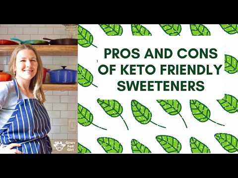 Keto Diet Sweeteners: Pros and Cons of Stevia and Erythritol to increase cravings, blood sugar...