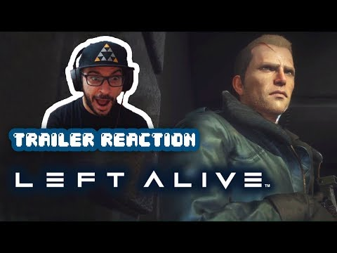 REACCIÓN: Left Alive - Release Date Trailer | PS4