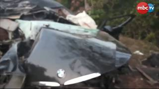 BMW Car Shatters In Road Accident At Puri-Konark Marine Drive; 1 Dead