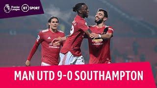 Man Utd vs Southampton (9-0) | Solskjaer's side equal biggest PL win | Premier League Highlights