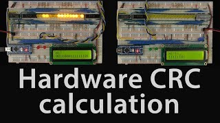 Hardware build: CRC calculation